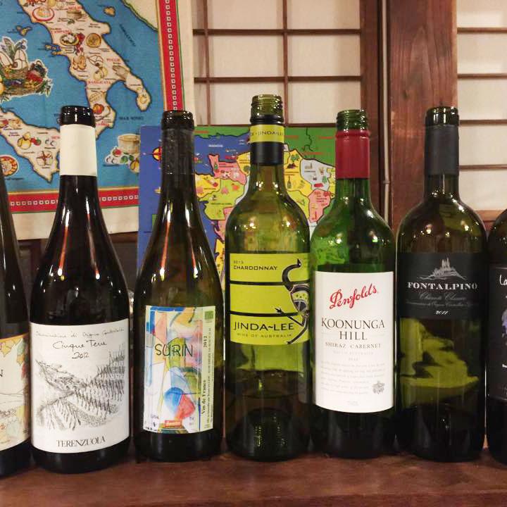 パスタとワイン会