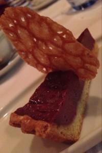 小菓子 赤ワインのタルト