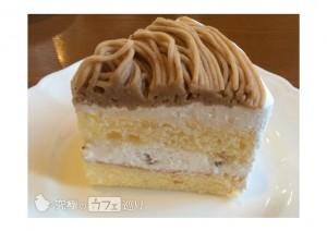 プレリュード 栗のショートケーキ